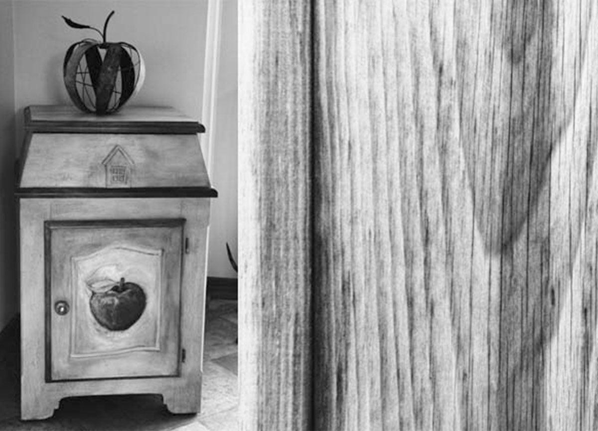 La petite maison, armoire sculptée