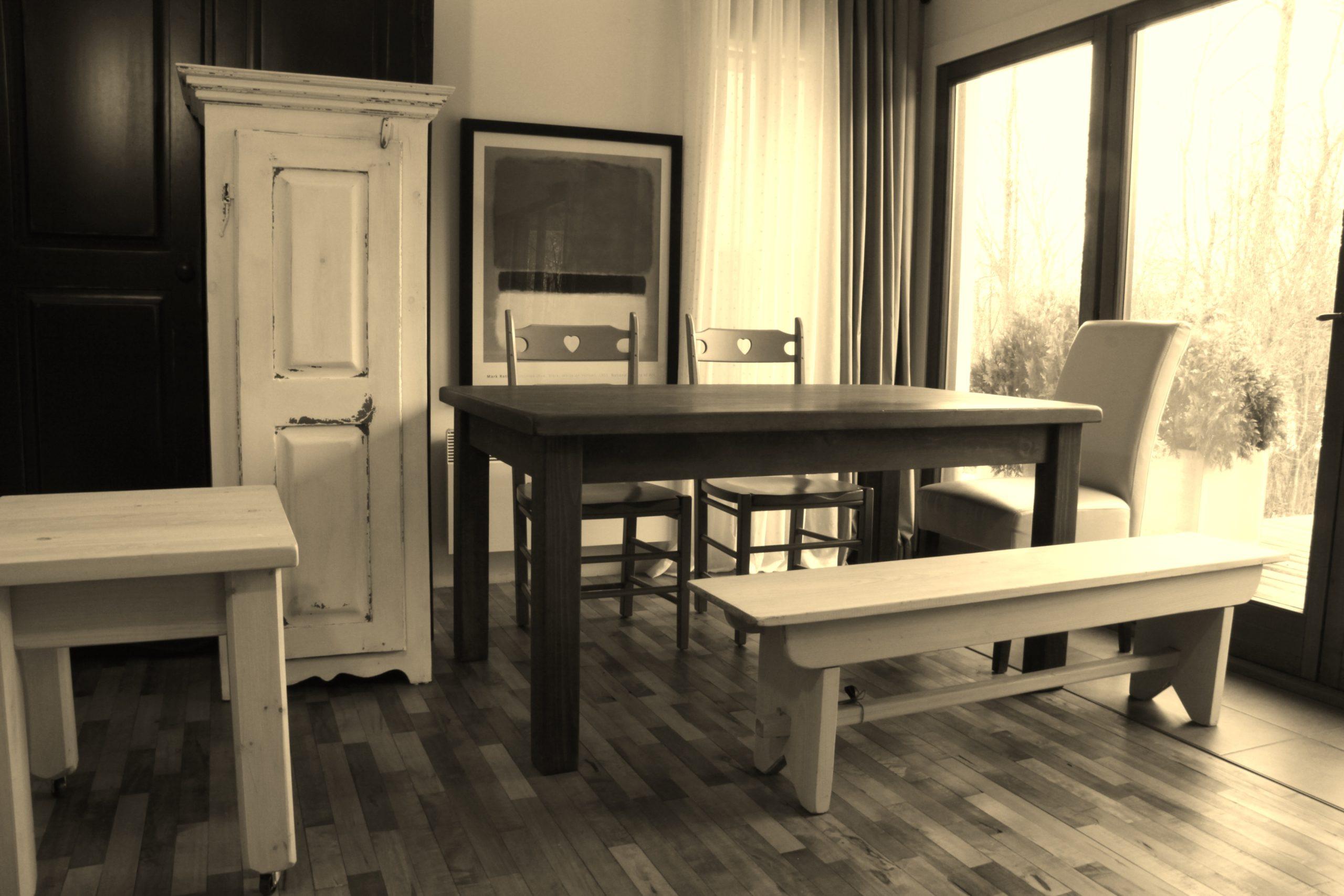 Table La Rustique Carrée