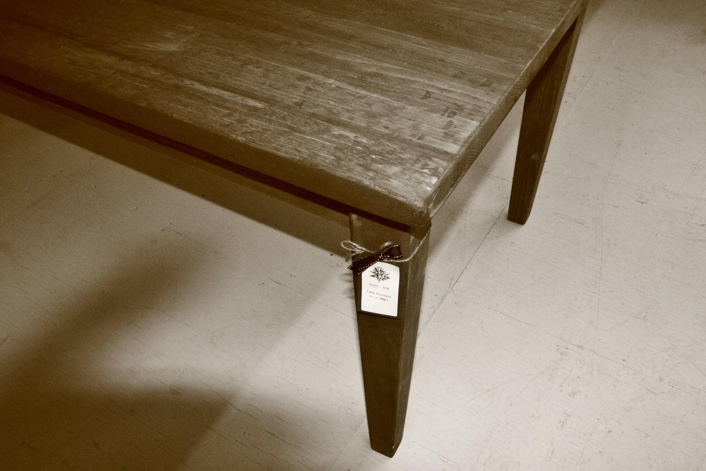 La table Rustique