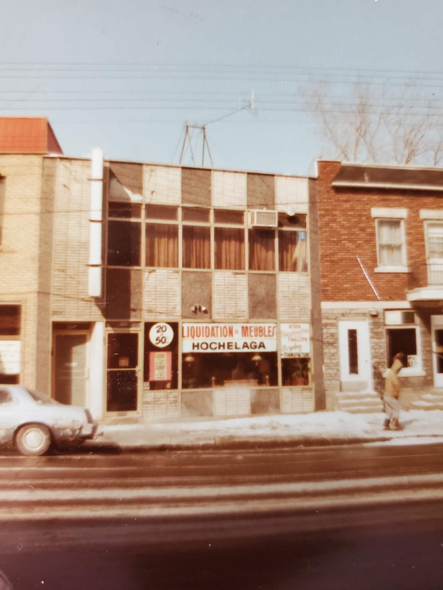 Meubles Hochelaga à Montréal notre Histoire depuis 1967