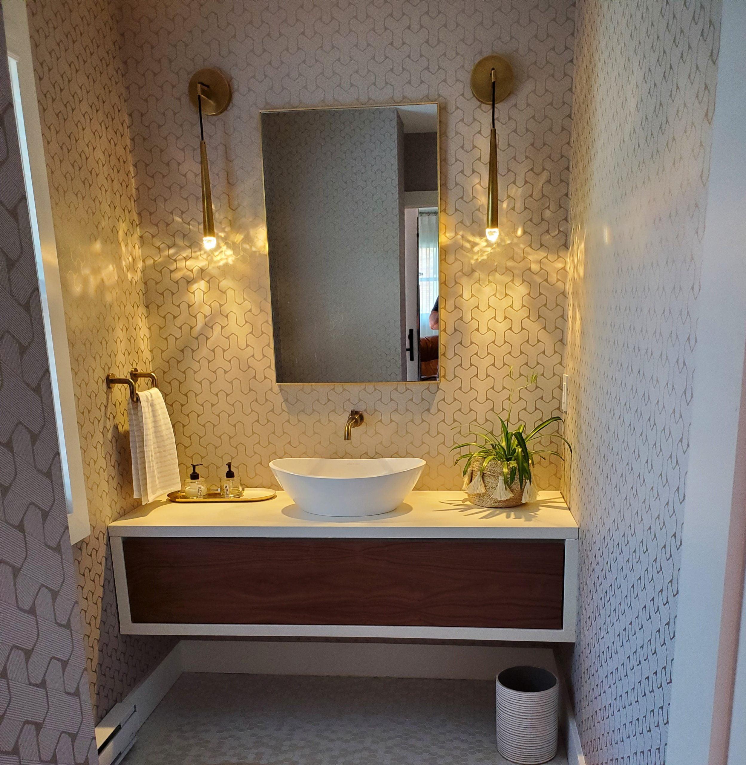 Vanité de salle de bain Suspendue